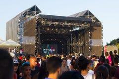 MTV musikfestival i Malta arkivbild