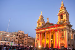 MTV-Muziekfestival in Malta Royalty-vrije Stock Afbeeldingen