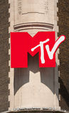 MTV signent Photographie stock