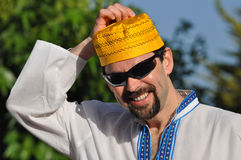 Muçulmanos modernos imagem de stock royalty free