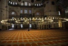 Muçulmanos que praying fotografia de stock