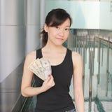 Muéstreme el dinero Foto de archivo