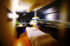 Muévase en la cabina del masaje fotografía de archivo libre de regalías