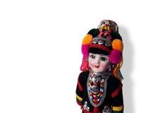 Muñeca étnica Imágenes de archivo libres de regalías