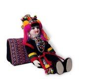 Muñeca étnica Foto de archivo libre de regalías