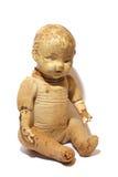Muñeca antigua del juguete Fotografía de archivo