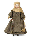 Muñeca antigua de la monja Fotos de archivo libres de regalías