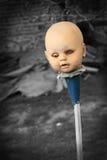 Muñeca asustadiza Foto de archivo libre de regalías