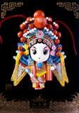 Muñeca china de la ópera (Mulan) Fotografía de archivo