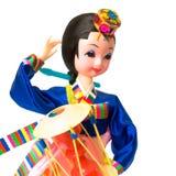 Muñeca coreana Fotografía de archivo