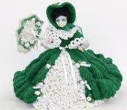 Muñeca Crocheted Foto de archivo libre de regalías