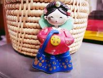 Muñeca de Corea de la muchacha Imagen de archivo libre de regalías