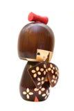 Muñeca de Kokeshi Imagen de archivo libre de regalías