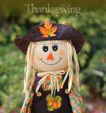 Muñeca de la acción de gracias Imagen de archivo libre de regalías