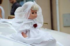 Muñeca de la boda Foto de archivo libre de regalías