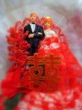 Muñeca de la boda Fotos de archivo