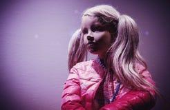 Muñeca de la chica joven Fotografía de archivo libre de regalías