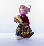 Muñeca de la granja de Pascua Imagen de archivo