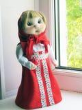 Muñeca de la media de nylon Foto de archivo