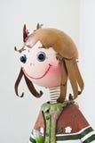 Muñeca de la muchacha Foto de archivo