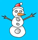 Muñeca de la Navidad Fotografía de archivo libre de regalías