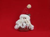 Muñeca de la Navidad del padre Imágenes de archivo libres de regalías