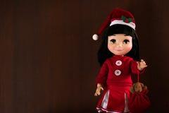 Muñeca de la niña fotografía de archivo libre de regalías