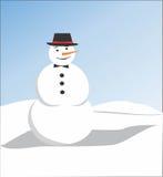Muñeca de la nieve Foto de archivo libre de regalías