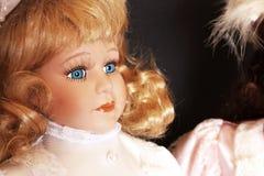 Muñeca de la porcelana Foto de archivo libre de regalías
