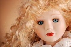 Muñeca de la porcelana Fotografía de archivo