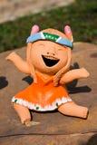 Muñeca de la risa Imagen de archivo libre de regalías