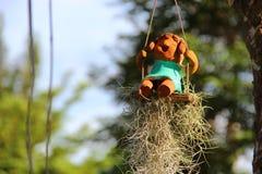 Muñeca de la sonrisa Foto de archivo libre de regalías