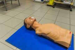 Muñeca de los primeros auxilios Foto de archivo