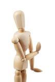 Muñeca de madera Imagen de archivo libre de regalías