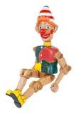 Muñeca de madera Fotografía de archivo libre de regalías