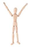 Muñeca de madera Fotos de archivo