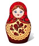 Muñeca de Matryoshka Imagen de archivo libre de regalías