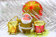 Muñeca de Papá Noel Fotografía de archivo libre de regalías