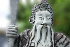 Muñeca de piedra china en el templo del Buda esmeralda Imagenes de archivo