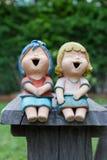 Muñeca de risa Imágenes de archivo libres de regalías