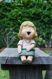 Muñeca de risa Fotos de archivo