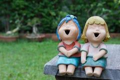 Muñeca de risa Imagenes de archivo