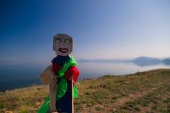 Muñeca de Shamanic en el fondo del mar Fotos de archivo libres de regalías