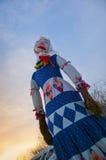 Muñeca de Shrovetide Fotos de archivo libres de regalías