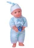 Muñeca de trapo, muñeca de la tela Imagen de archivo libre de regalías