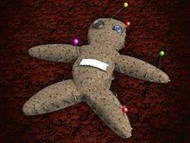 Muñeca de VOODO Fotografía de archivo libre de regalías