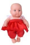 Muñeca del baile en vestido rojo Imágenes de archivo libres de regalías