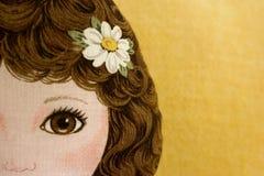 Muñeca del paño Fotografía de archivo libre de regalías