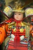 Muñeca del samurai Foto de archivo libre de regalías