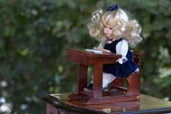 Muñeca del vintage Foto de archivo libre de regalías
